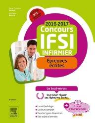 Concours IFSI Épreuves écrites 2016-2017
