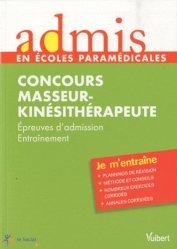 La couverture et les autres extraits de Annales corrigées concours d'entrée masseur kinésithérapeute