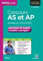 La couverture et les autres extraits de Concours AP écrit + oral