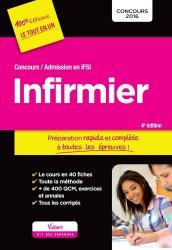 La couverture et les autres extraits de Infirmier - Admission en IFSI - Préparation rapide et complète à toutes les épreuves