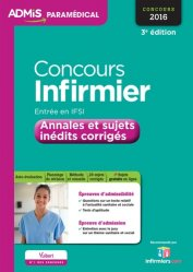 Concours Infirmier Entrée en IFSI - Concours 2016