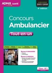 La couverture et les autres extraits de Concours Ambulancier 2020-2021