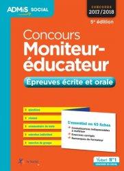 Concours Moniteur-éducateur 2017/2018