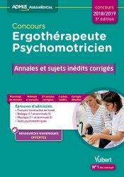 Concours Ergothérapeute et Psychomotricien 2018-2019