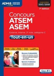La couverture et les autres extraits de Concours ATSEM ASEM - Tout en un