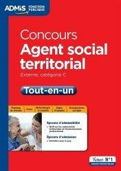 La couverture et les autres extraits de Concours Agent social territorial