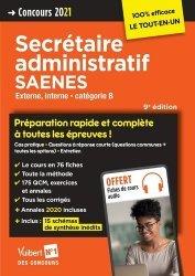 Concours Secrétaire administratif et SAENES - Catégorie B - Préparation rapide et complète à toutes les épreuves