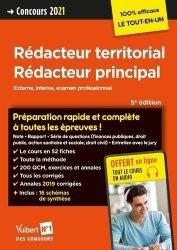 Concours Rédacteur territorial et Rédacteur principal - Catégorie B - Préparation rapide et complète à toutes les épreuves