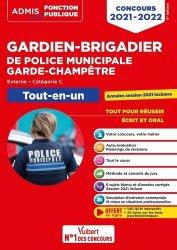 Concours Gardien-brigadier de police municipale et Garde-champêtre - Catégorie C - Tout-en-un