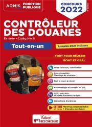 Concours Contrôleur des douanes - Catégorie B
