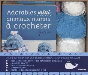 Coffret mini crochet marin