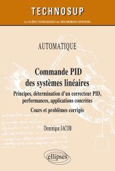 Commande PID des systèmes linéaires