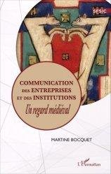 Communication des entreprises et des institutions