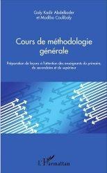Cours de méthodologie générale