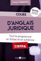 La couverture et les autres extraits de Cours de culture juridique et judiciaire. Tout le programme en 100 fiches alphabétiques, Edition 2020