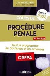 Cours de procédure pénale 2022