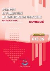 Contrôle et production de l'information financière