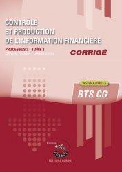Contrôle et production de l'information financière Processus 2 Tome 2 du BTS CG