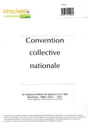 Convention collective nationale Optique 2016 + Grille de Salaire