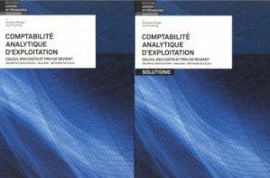 Comptabilité analytique d'exploitation. Livre et solutions