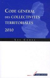 Code général des collectivités territoriales 2010