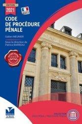 La couverture et les autres extraits de Code de procédure pénale. Edition 2017