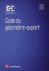 Code du géomètre expert