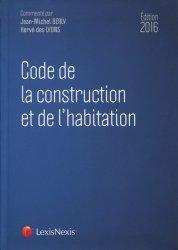 Code de la construction et de l'habitation 2016