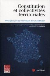 Constitution et collectivités territoriales. Réflexions sur le 60e anniversaire de la Constitution