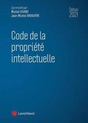 La couverture et les autres extraits de Code de la propriété intellectuelle. Annoté & commenté, Edition 2020