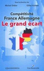 Compétitivité France-Allemagne