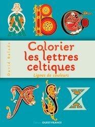 Colorier les lettres celtiques