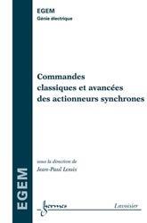 Commandes classiques et avancées des actionneurs synchrones