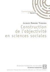Construction de l'objectivité en sciences sociales