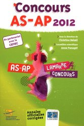 Concours AS-AP 2012
