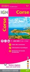 La couverture et les autres extraits de Corse. 1/150 000