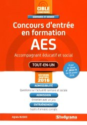 Concours d'entrée en formation AES (accompagnement éducatif et social)