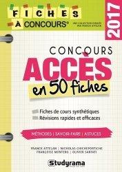 Concours accès en 50 fiches