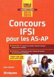 La couverture et les autres extraits de IFSI 2018 Tout l'entraînement intensif aux tests d'aptitude