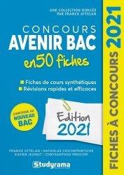 Concours Avenir Bac 50 fiches