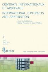 Contrats internationaux et arbitrage. Edition bilingue français-anglais