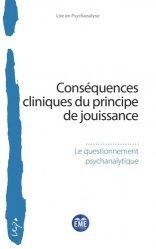 Conséquences cliniques du principe de jouissance