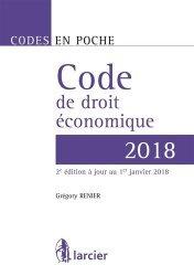 Code de droit économique. Edition 2018