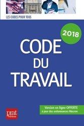 La couverture et les autres extraits de Le Code du travail. Edition 2019