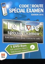 Code de la route spécial examen. Permis B, avec 1 DVD