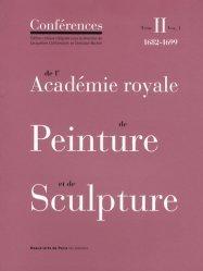 Conférences de l'Académie royale de Peinture et de Sculpture