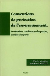 Conventions de protection de l'environnement