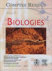 Comptes rendus Académie des sciences Biologies
