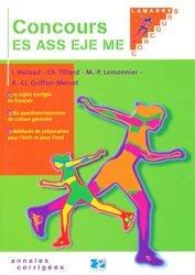 Concours ES, ASS, EJE, ME