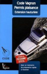 La couverture et les autres extraits de Code Vagnon permis plaisance option côtière et son mémento de révision